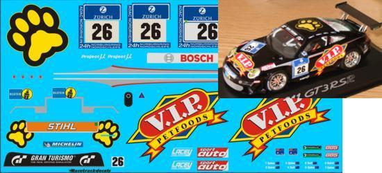 """1//43 Decal Porsche 911 GT3 Cup S /""""H/&R/"""" Jürgen Alzen Motorsport 24h N/'ring 2011"""